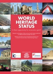 2009 World Heritage Status - Is there opportunity for Economic Gain