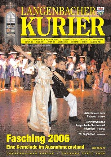 12. Ausgabe April - Langenbach