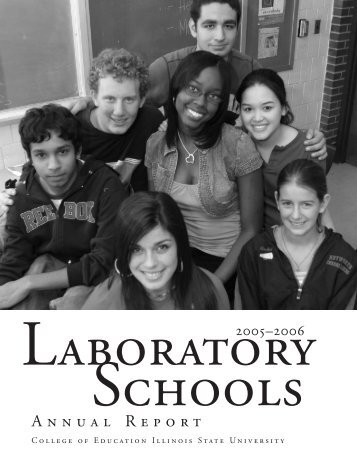 Annual Report - University High School - Illinois State University