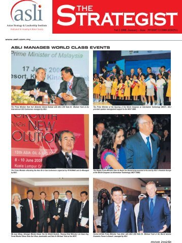 asli manages world class events - Asian Strategy & Leadership ...