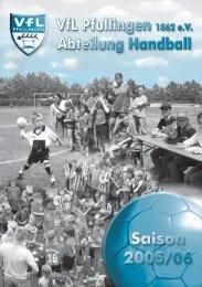 Saison 2005/2006 - VfL Pfullingen