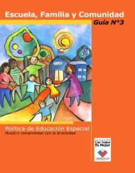 Escuela, familia y comunidad. Guía N°3. Política de educación