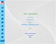 William Shakespeare - Equivalences.org