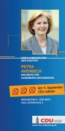 PetrA AVerBeCK - CDU Oldenburg