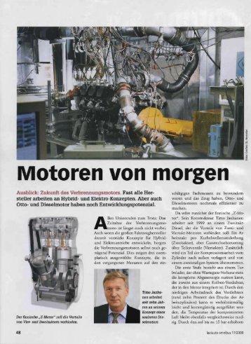 Motoren von morgen - Scuderi Engine
