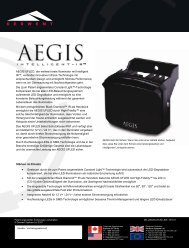 AEGIS UFLED, der weltweit erste Illuminator mit ... - CBC CCTV
