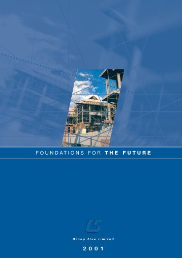 Download Annual Report 2001 - Group Five