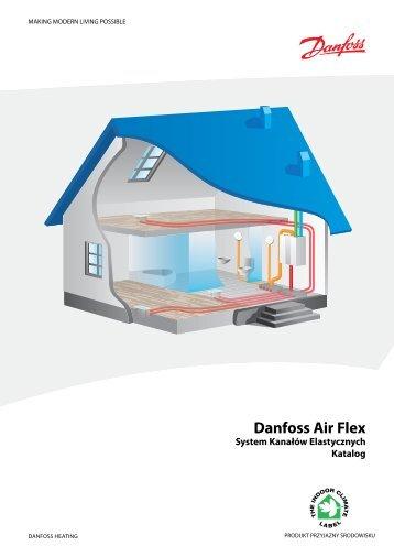 Danfoss Air Flex System Kanałów Elastycznych Katalog