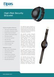 High-Risk Security Bracelet - Visonic Technologies