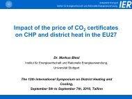 presentation - The 12th International Symposium on District Heating ...