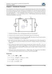 Übungsaufgaben Themengebiet D - Fachgebiet Leistungselektronik ...