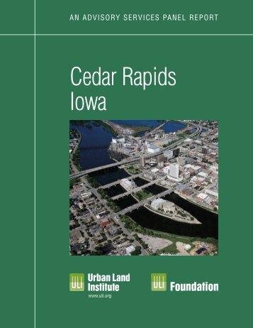 Cedar Rapids Iowa - Urban Land Institute