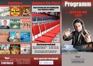 Programm - Deggendorfer Kultur