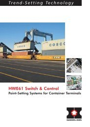 Trend-Setting Technology gy HWE61 Switch ... - Hanning & Kahl