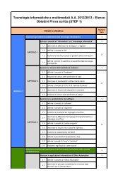 Obiettivi Didattici Step 1 (pdf, it, 148 KB, 2/11/13)