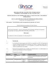organización de aviación civil internacional comisión ... - ICAO