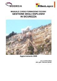 Manuale corso fochino - Geologico