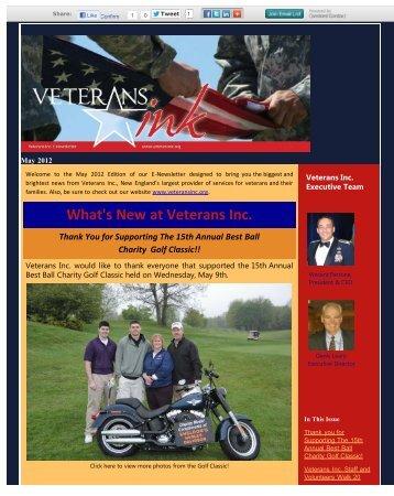 May 2012 - Veterans Inc