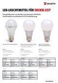LED-Leuchtmittel - Würth - Seite 7
