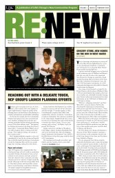 RENEW February 2004 Newsletter - New Communities Program