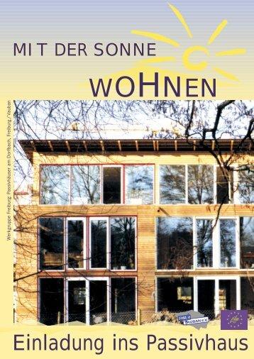 Wir bauen Passivhäuser - Forum Vauban e.V.
