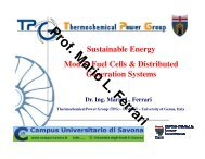Lesson II - Fuel cells (electrochemistry) - TPG