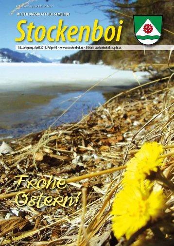 Ausgabe vom April 2011 - Gemeinde Stockenboi