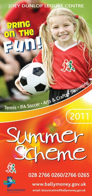 summer scheme - Visit Ballymoney