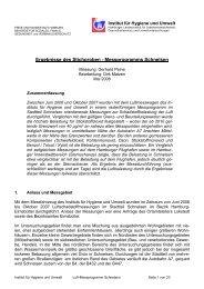 Bericht Schnelsen V2 - Hamburger Luftmessnetz