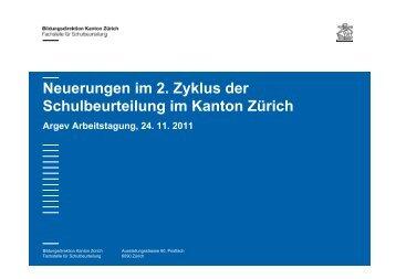Folge-Evaluation im Kanton Zürich - argev