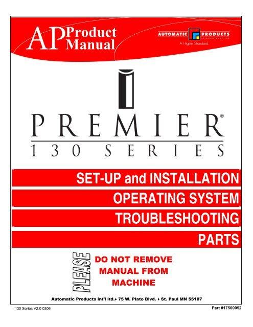 AP 130 - Vending Machine Repair