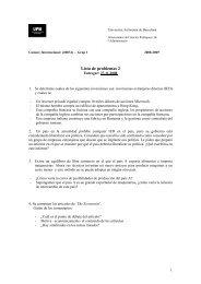 Lista de problemas 2 - IDEA - Universitat Autònoma de Barcelona