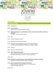 Programa - Cooperativas Agrarias Federadas