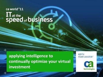 continual optimization - CA