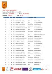 XXVII Cross de Leganés y XI Campeonato de Madrid Absoluto de ...