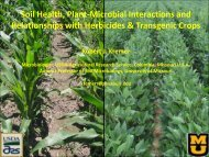 Soil Health, Plant-Microbial Interactions and ... - Midlandacs.org