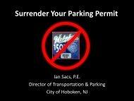 Surrender Your Parking Permit