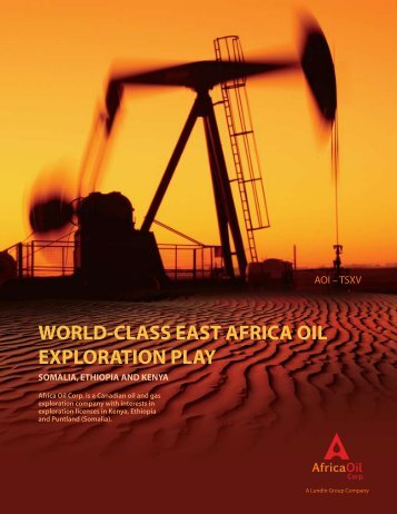 Africa Oil Summary February, 2010 (PDF) - Africa Oil Corp.