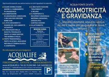 acquamotricita - Cral Araba Fenice