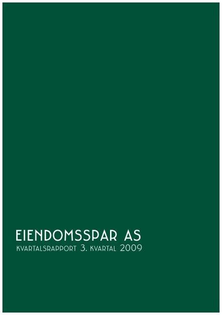 3. kvartal 2009 ES:1. kvartal 2005.qxd.qxd