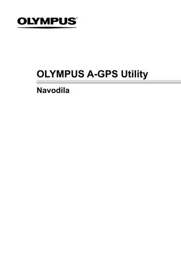 Navodila za uporabo programske opreme »OLYMPUS A-GPS Utility