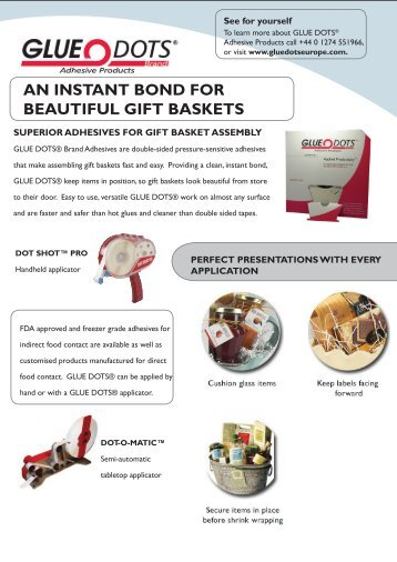 AN INSTANT BOND FOR BEAUTIFUL GIFT BASKETS - DanLube
