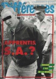 Le magazine de l'amitié entre tes peuples - Archives du MRAP