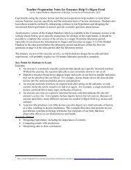 Teacher Preparation Notes for Enzymes Help Us Digest ... - Serendip