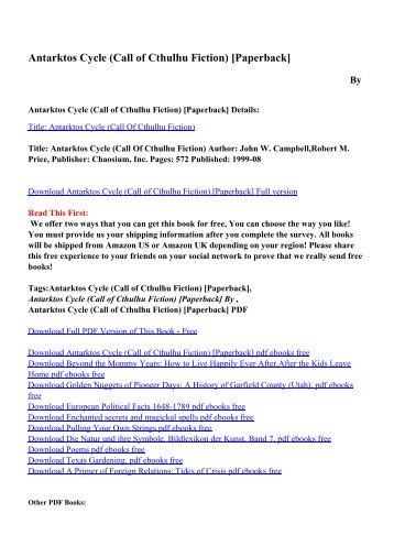 Download Call Of Cthulhu Keeper Rulebook Pdf Free  Gif