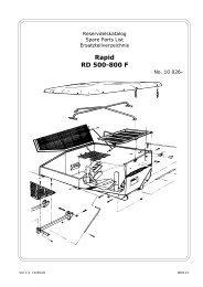 Rapid RD 500-800 F - Hjallerup Maskinforretning A/S