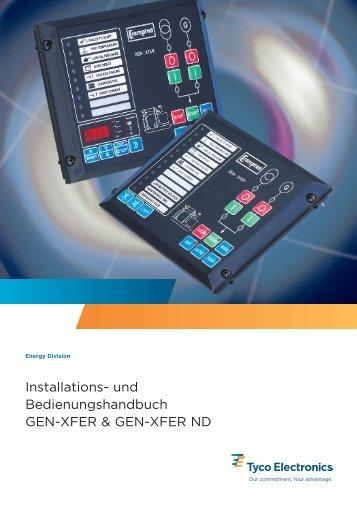 Installations- und Bedienungshandbuch GEN-XFER & GEN-XFER ND
