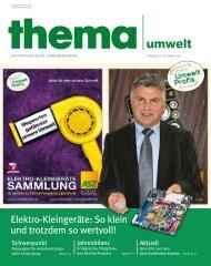 Elektro-Kleingeräte: So klein und trotzdem so wertvoll! - Umweltprofis