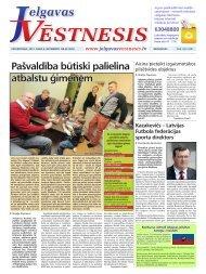 2012.gada 6.decembris Nr.49(285) - Jelgavas Vēstnesis