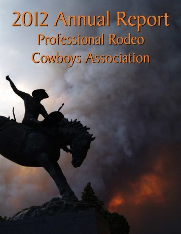 annual report 5 - Professional Rodeo Cowboys Association